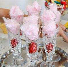 Girls Dinner Parties, Pink Parties, Girls Night, Raspberry, Recipies, Ice Cream, Yummy Food, Treats, Fruit