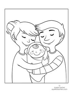 Family Coloring Pages for Preschoolers. 20 Family Coloring Pages for Preschoolers. Bee Coloring Pages, Family Coloring Pages, Coloring Sheets For Kids, Disney Coloring Pages, Animal Coloring Pages, Free Printable Coloring Pages, Free Coloring, Coloring Books, Kids Coloring