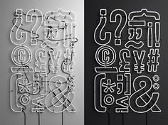 """Love this.  Typomad on Behance  """"Typomad is Madrid´s typographic celebration, an anual event where talks, exhibitions and typography workshops floods the city of Madrid. This year, the main theme of the event will be """"The hidden part of typography""""."""""""