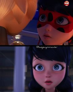 I can't believe that I didn't notice that she made the same face!