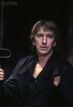 Alan Rickman❤️ — desperatemurph: Hamlet Riverside Studios...