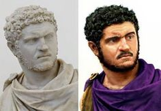 "museum-of-artifacts: ""Reconstruction of bust of Roman emperor Caracalla. Ancient Rome, Ancient History, European History, Ancient Aliens, Ancient Greece, American History, Forensic Facial Reconstruction, Statues, Rome Antique"