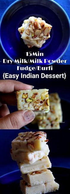 Dry Milk fudge, easy