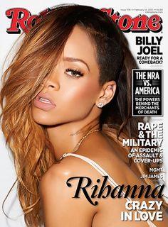 Rihanna on the February 14, 2013 cover