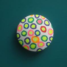 Bright Dots Spirited Art, Dots, Buttons, Bright, Creative, Fabric, Projects, Handmade, Stitches