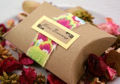 Set Of 10 Small Kraft Brown Pillow Boxes - 3 X 3 1/4 X 1 - For Gift Wrapping…