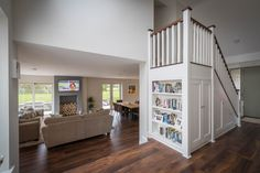 Full service firm in Trim, Meath. House Designs Ireland, Farmhouse Renovation, Irish Cottage, Stair Storage, New Builds, Bungalow, House Plans, Storage Ideas, Building