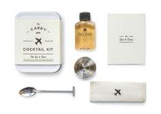 Un kit à cocktail de voyage idee cadeau noel famille ado