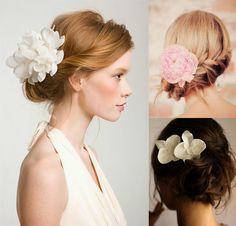 Lila & Sirena: DIY | Inspiration: Flower Hair Clips