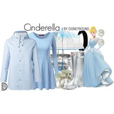 Cinderella Rainy Day DisneyBound (Oh my gosh, totally love this, WANT!!!) Get the look! | Disney Bound