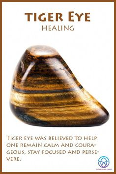 Tiger Eye Meaning – Gardening for beginners and gardening ideas tips kids Citrine Crystal Meaning, Crystal Healing Stones, Crystal Magic, Crystal Meanings, Chakra Crystals, Crystals And Gemstones, Stones And Crystals, Gem Stones, Tiger Eye Benefits