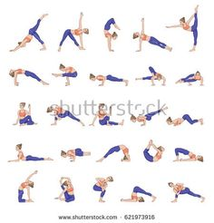 Women silhouettes collection of yoga poses asana vector image on VectorStock Breath In Breath Out, Woman Silhouette, Asana, Yoga Fitness, Yoga Poses, Google Images, Cool Pictures, About Me Blog, Silhouettes