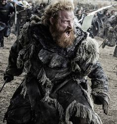"It's a war in the North! Below are eight new photos from Sunday's eagerly anticipated ""Battle of the Bastards"" episode of HBO's Game of Thrones. The face-off has Lord Jon Snow's (Stark) army up . Game Of Thrones Saison, Got Game Of Thrones, Jon Snow, Winter Is Here, Winter Is Coming, Khal Drogo, Kristofer Hivju, Got Merchandise, Game Of Trone"