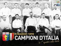 Italy's football first championship Genoa Football, Genoa Cfc, One Championship, Club, Italia, Genoa