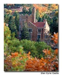 High Tea at the Glen Eyrie Castle in Colorado Springs, CO.....Lovely