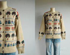 Vintage wool pullover 8dWMN