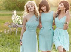 Bridesmaid Dresses. the middle one
