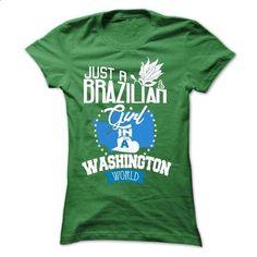 Brazilian girl in WASHINGTON - #Tshirt #black hoodie mens. ORDER HERE =>…
