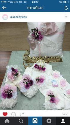 Takı yastığı lohusa terlik taç Boutique Design, Mom And Baby, Beauty Skin, Bandana, Routine, Slippers, Skin Care, Babies, House
