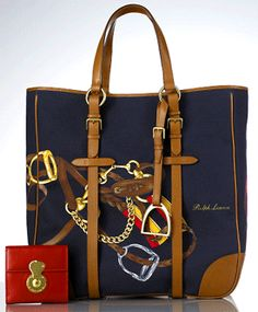 Large Sporting Tote by Ralph Lauren, Spring 2008.
