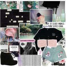 You won't make it on your own, created by lexuslou on Polyvore