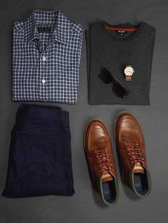 Casual, Minimalist Style Inspiration. How To Transition from Summer to Fall. #layers #monochrome Fall Fashion Staples, Fashion Essentials, Autumn Fashion, Style Essentials, Men's Fashion, Fashion Tips, Classy Men, Mens Fall, Mens Fashion Suits