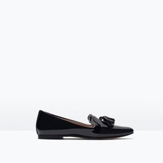 Image 1 of PATENT SLIPPER from Zara