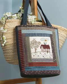 Likes, 7 Comments - Martingale Small Quilt Projects, Quilting Projects, Sewing Projects, Patchwork Bags, Quilted Bag, Linen Bag, Book Quilt, Small Quilts, Handmade Bags