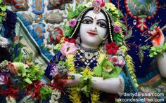 To view Radha Close Up Wallpaper of ISKCON Chowpatty in difference sizes visit - http://harekrishnawallpapers.com/srimati-radharani-close-up-wallpaper-048/