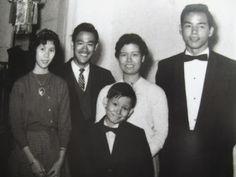 Roast Pork Sliced From A Rusty Cleaver: Bruce Lee Family Photos