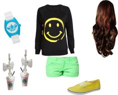 """Bored :P"" by m-huntzy on Polyvore"