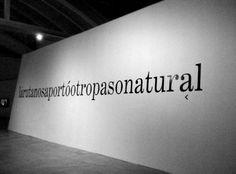 There is no road > La Ruta.  [Videoinstalación. Exposición Colectiva] 12-12-08 hasta el 16-03-09. Obra realizada por encargo de: LABoral. Organizador: Laboral Centro de Arte y Creación Industrial de Gijón, Asturias