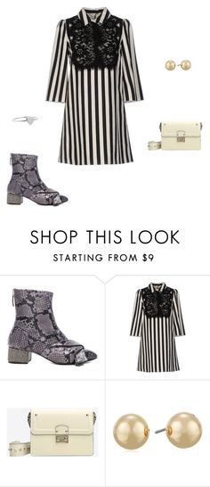 """""""Untitled #9881"""" by explorer-14576312872 ❤ liked on Polyvore featuring N°21, Dolce&Gabbana, Valentino, Napier and Jennifer Meyer Jewelry"""