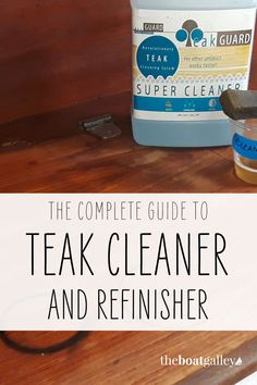 Your boat's teak doesn't have to look dry and tired. Here's how to clean and refresh it. Marine Environment, Boat Projects, Teak, Tired, Cleaning