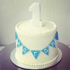 i heart baking!: baby first birthday carrot cake (with applesauce instead of sugar) smash cake with handmade fondant bunting