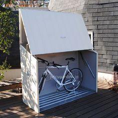 自転車置き場・ガーデン収納庫・英国製物置