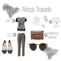 """South Africa Travels"" by shopeluxe on Polyvore"