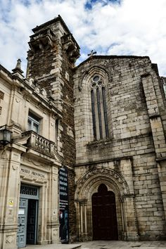 Museo Provincial e Iglesia de San Pedro (Lugo - Spain)