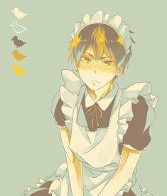Image de haikyuu, nishinoya yuu, and anime Haikyuu Nishinoya, Haikyuu Fanart, Kageyama, Haikyuu Anime, Haikyuu Funny, Anime Boys, Hot Anime Guys, Cute Anime Boy, Maid Outfit Anime