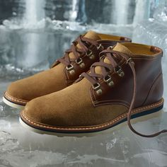 Inspired by ice harvesting, the Abington Fall 2014 Collection is made with full-grain leathers, Woolrich® fabric and Vibram® rubber. See the full story:  #timberland #abington #mensshoes #mensstyle #menswear #ice