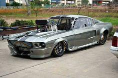 Eleanor drag car