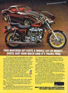 Racing Cafè: Vintage Brochures-Harley Davidson