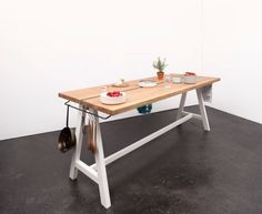 A Multipurpose Table You Can Prep, Cook, And Eat At