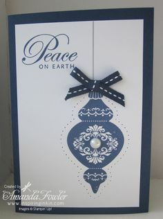 Stampin' Up! Ornament Keepsakes card
