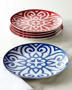Portion-Control Dinner Plates - Neiman Marcus