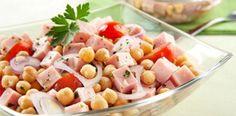 Receita Salada Grão de Bico