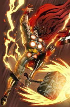 Firey Thor