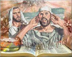 Foto: Santo Evangelio Febrero 14, 2014  La fuerza de la fe Marcos 7, 31-37. Tiempo Ordinario. La fe del sordo, su esperanza, permitió a Dios realizar el milagro que le pedía.  Del santo Evangelio según san Marcos 7, 31-37  Cuando Jesús volvía de la región de Tiro, pasó por Sidón y fue hacia el mar de Galilea, travesando el territorio de la Decápolis. Entonces le presentaron a un sordomudo y le pidieron que le impusiera las manos. Jesús lo separó de la multitud y, llevándolo aparte, le puso…