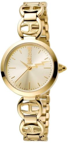 Just Cavalli Macrame Gold Dial Ladies Watch Gold Watches Women b3cd51a36