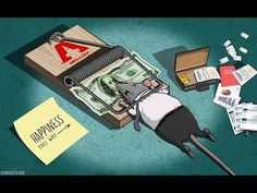 Artist Steve Cutts is a freelance illustrator based in London. He creates satirical illustrations that portray the (sad) truth about the world we live in. Expression Populaire, Digital Foto, Rat Traps, Satirical Illustrations, Psy Art, Film D'animation, The Ugly Truth, Cartoon Shows, Caricatures